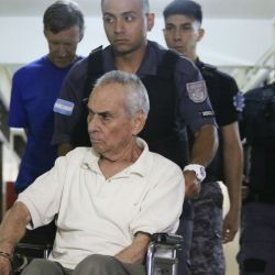 Italian priest Nicolás Corradi, 82, who was arrested last year after accusations of sexual abuse at the Institute Próvolo came to light.