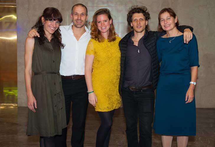 ProHelvetia presentó el programa de intercambio cultural. El equipo completo de Pro Helvetia en Buenos Aires.
