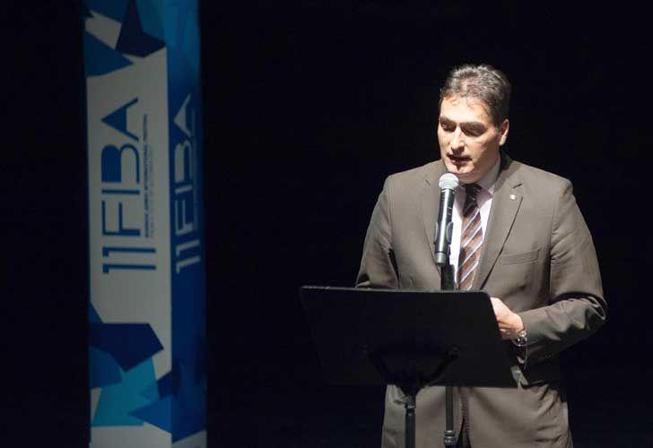 ProHelvetia presentó el programa de intercambio cultural. Hanspeter Mock, embajador de Suiza en la Argentina.