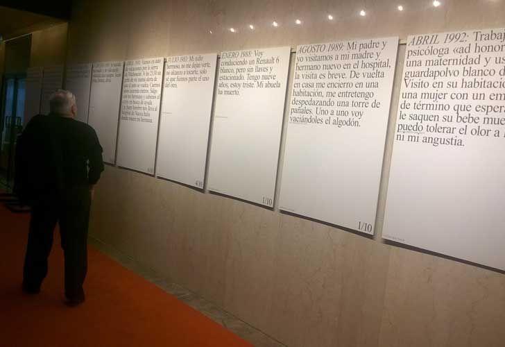 ProHelvetia presentó el programa de intercambio cultural. Muestra Nacer y morir, del artista suizo Mats Staub.