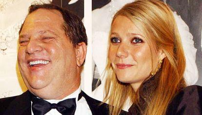 Harvey. El productor de cine, con la actriz Gwyneth Paltrow.