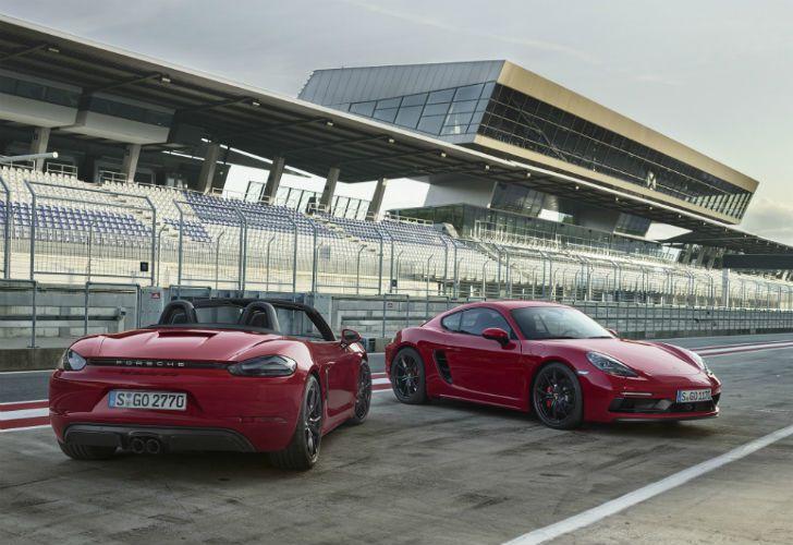 Nuevos Porsche 718 GTS