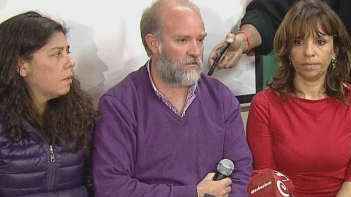 Santiago's family claimed for respect during a press conference after the appearance of his body.