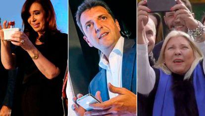 Campaña. Mensajes de los candidatos y devoluciones de parte de los electores.