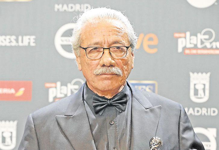 Sueño. Para Edward Olmos que le entregaran el Premio Platino de honor en Madrid lo conmovió.