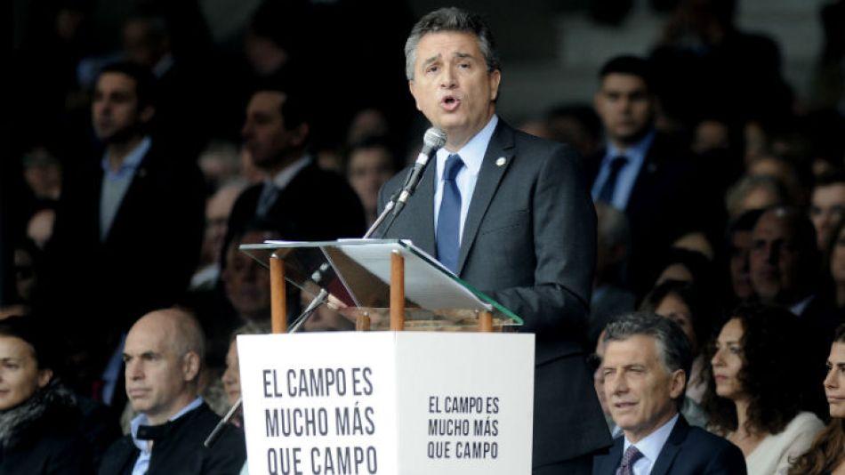 Luis Miguel Etchevehere desembarca en el Ministerio de Agroindustria.