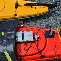 Un kit solar con 2 power packs