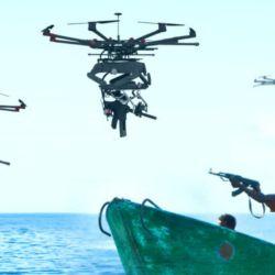 dron francotirador