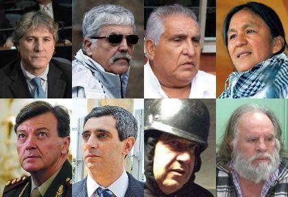 Resultado de imagen para foto de los funcionarios presos del kirchnerismo