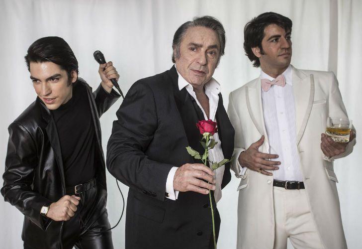 Los tres Sandro de la miniserie