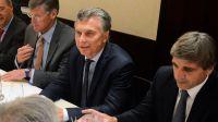 Macri y Caputo, junto a inversores en Nueva York