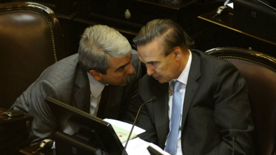 Aníbal Fernández y Miguel Ángel Pichetto