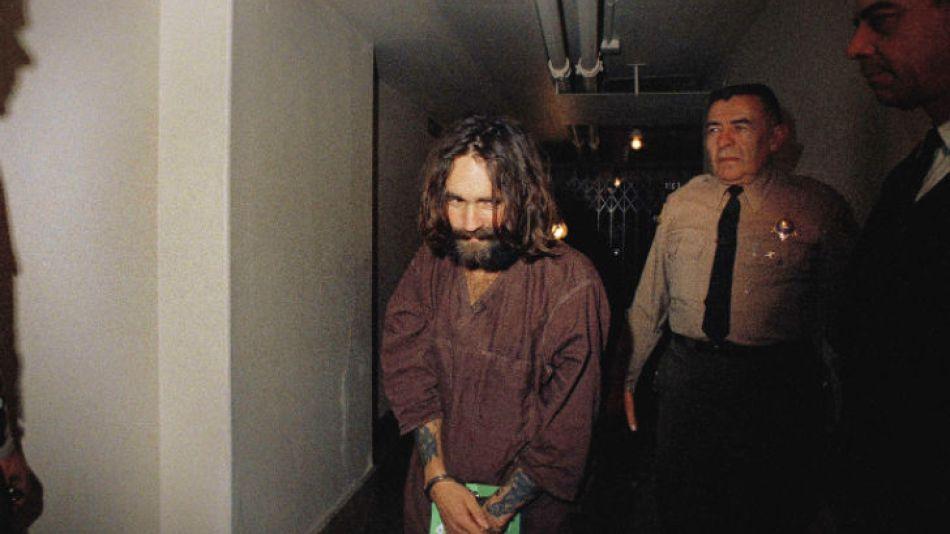 Charles Manson, uno de los criminales más peligrosos de Estados Unidos.