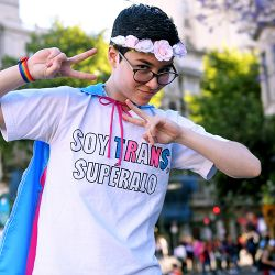 Buenos Aires celebrated its annual Pride march on November 18, 2017.