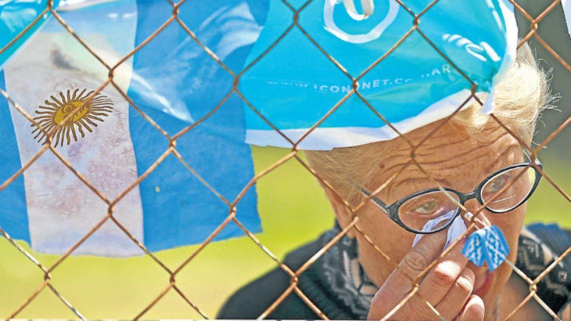 Expectations and dispair, growing feellings around the ARA San Juan's case.