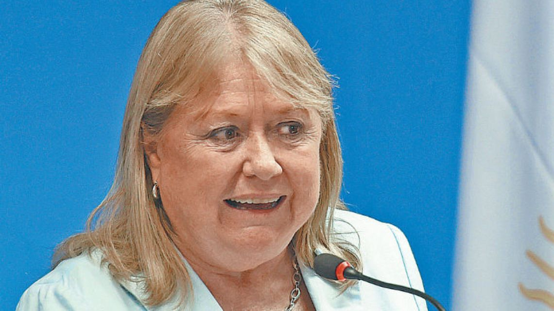 Former foreign minister Susana Malcorra.