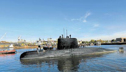 Submarino. El territorio que vigilaba es la plataforma más grande del mundo.