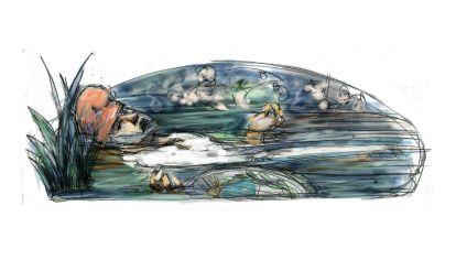 patria a la deriva Homenaje a John Everett Millais (1851)
