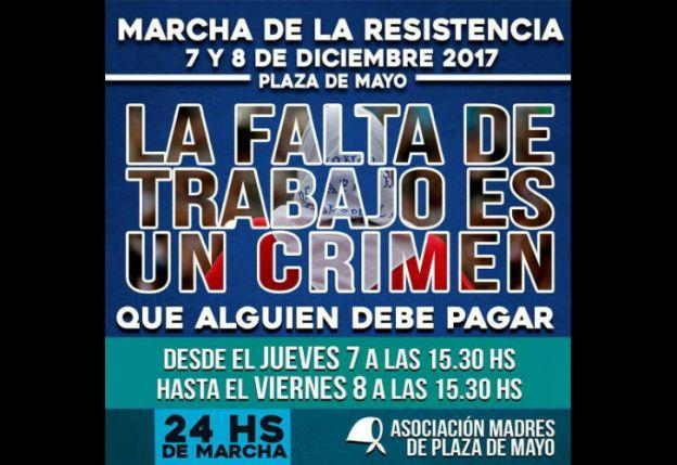 Marcharán hoy en Plaza de Mayo contra