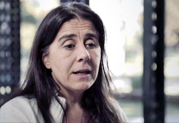 Beatriz Busaniche , Presidenta de la Fundación Vía Libre, que también participa de la Cumbre de la OMC.