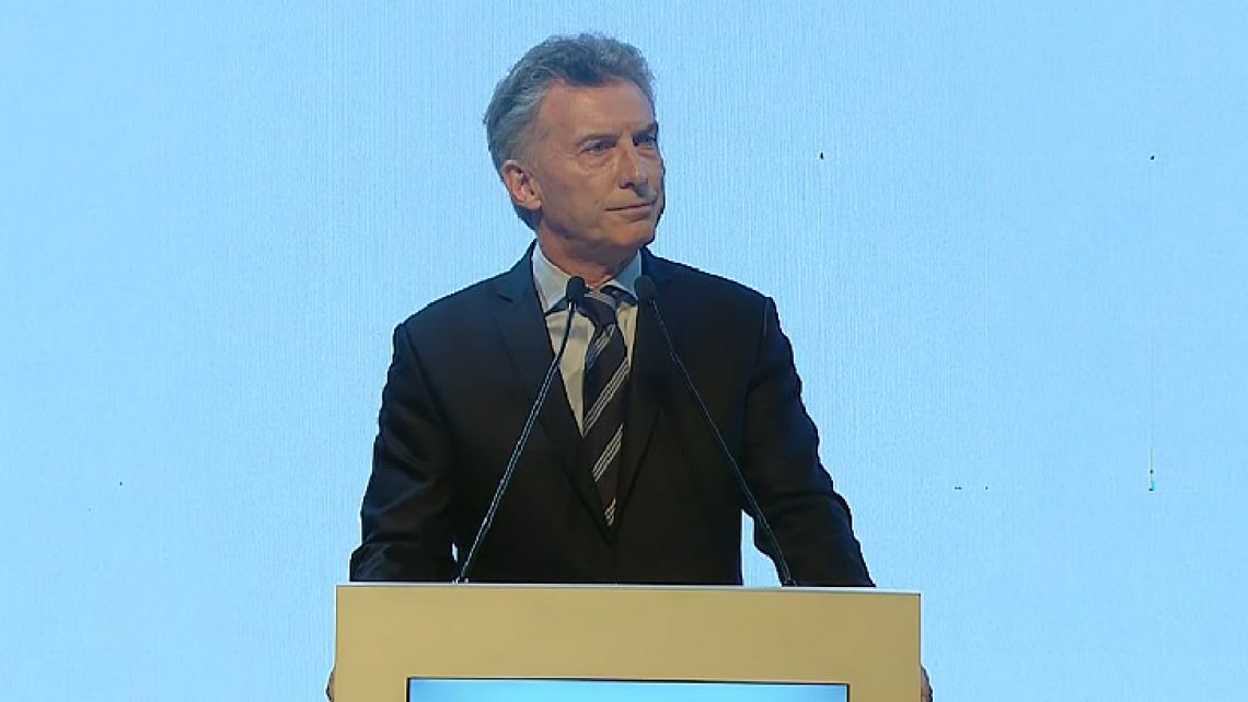 "Macri said that he sees his new challenge as turning the G20 into a ""global conversation"" primarily attuned to the needs of the people so that ""growth reaches everybody."""