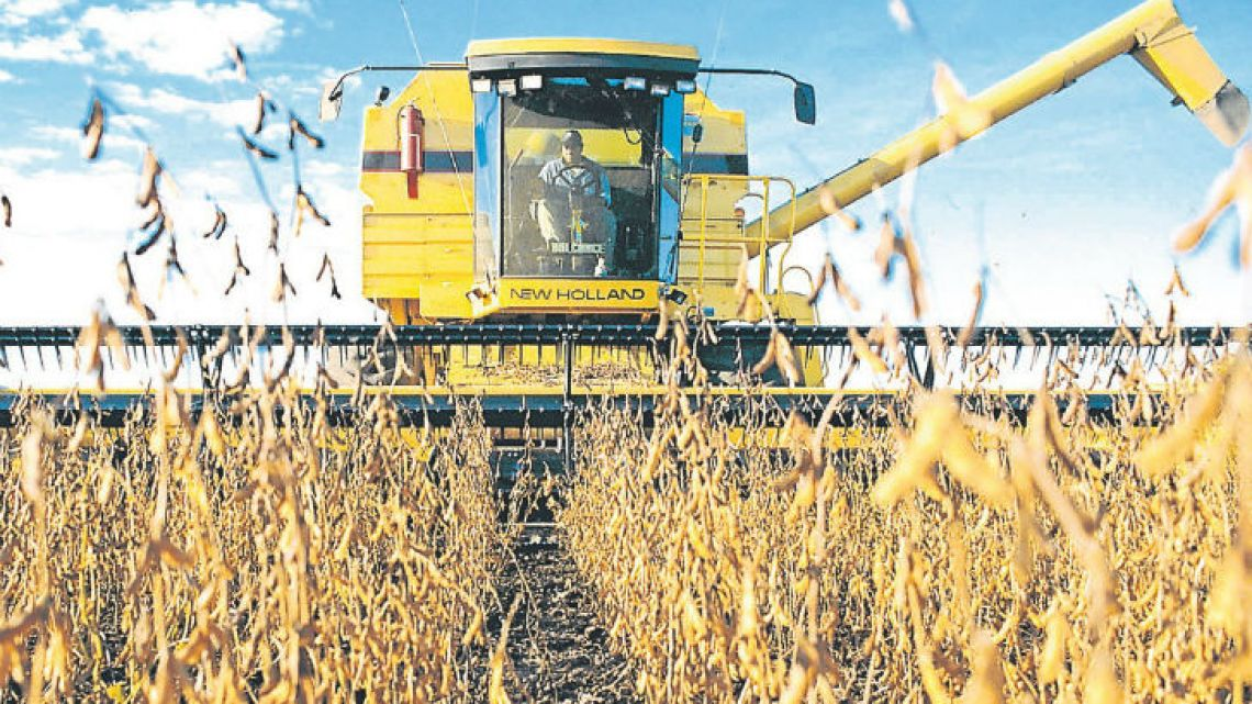 Producers were expected to plant 16.8 million hectares of soybeans for Argentina's 2017-18 crop.
