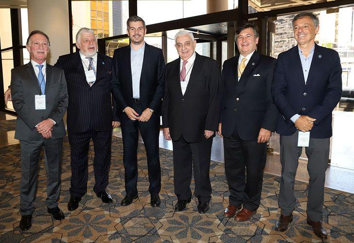 El jefe de Gabinete Marcos Peña habló en el Consejo Interamericano de Comercio y Producción