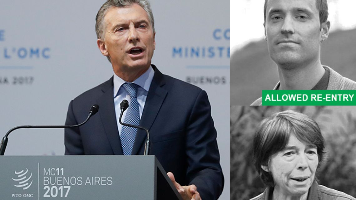President Mauricio Macri opened the first ever WTO Ministerial Conference in a South American country, while civil society groups and journalists were barred from attending or deported.