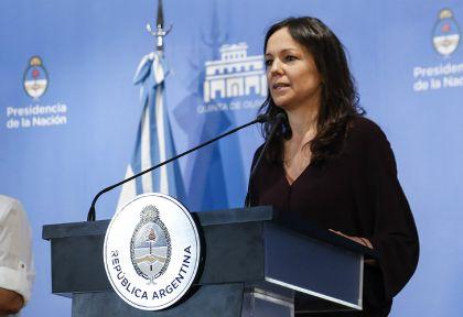 Carolina Stanley, ministra de Desarrollo Social, se refirió al tema de las reformas.