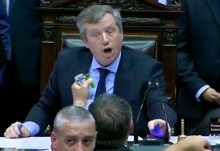 Diputados de la oposición increparon a Emilio Monzó