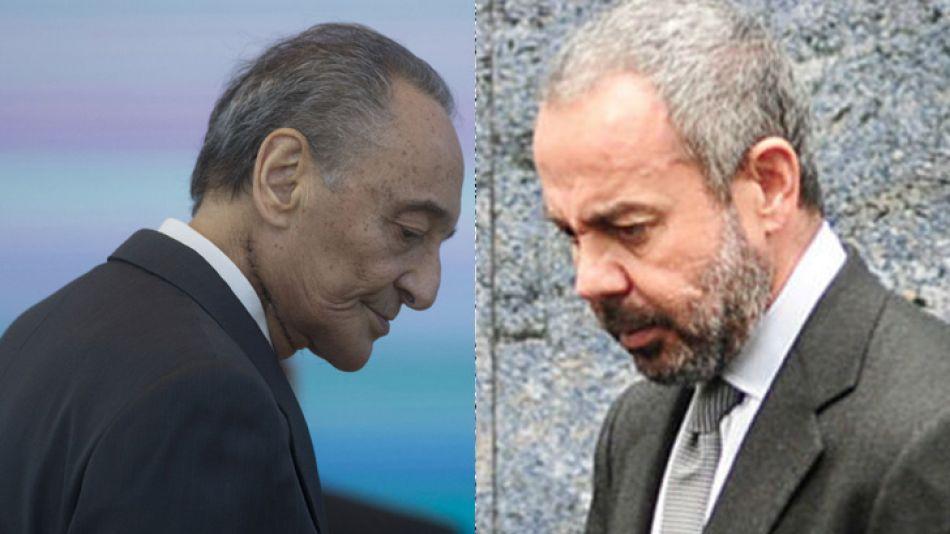 Héctor Magnetto, CEO de Clarín, y David Martínez, titular de Fintech, la principal accionista de Telecom
