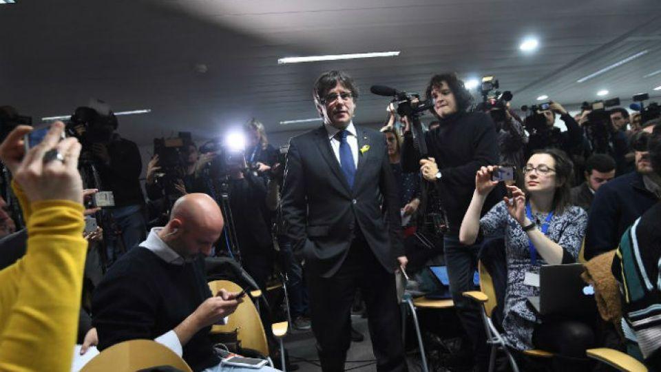 Puigdemont celebra el triunfo de las fuerzas independentistas desde Bélgica.
