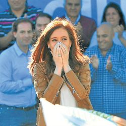 Cristina Fernández de Kirchner made a number of trips to the Comodoro Py courthouse, and she was elected senator in October.