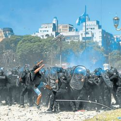 On a hot December, protests erupted inside and outside Congress over reforms the Mauricio Macri administration sought to introduce.