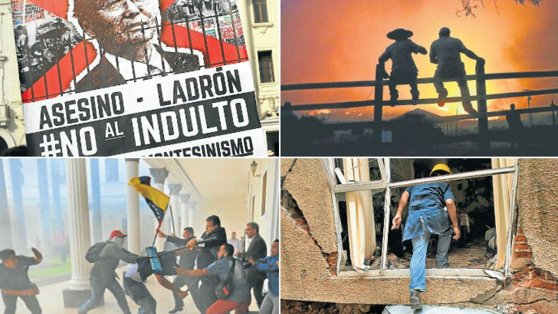 Images capturing events from the last 12 months in Latin America.