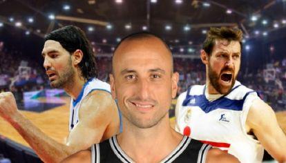 Manu Ginóbili, el gran protagonista del básquet argentino en 2017