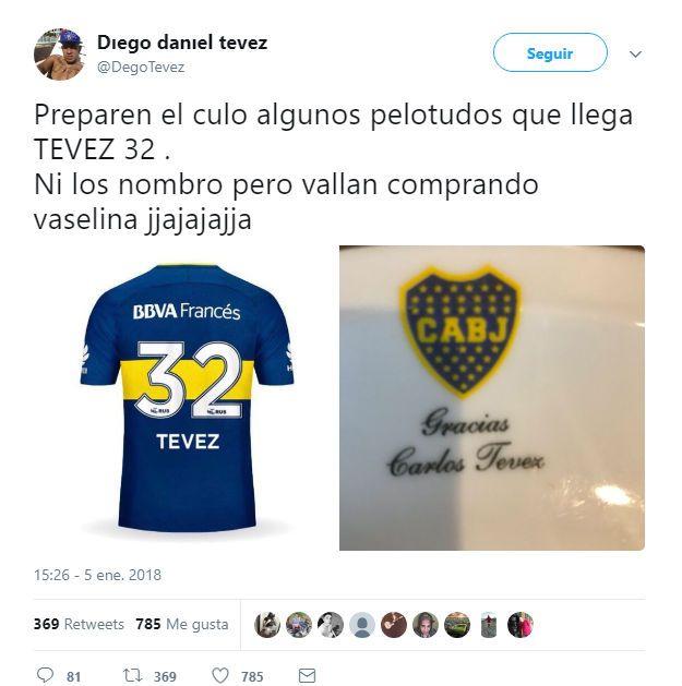 Boca espera por Tevez: presentó a Buffarini ya Ábila