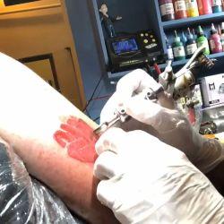 Jorge Rial tatuaje