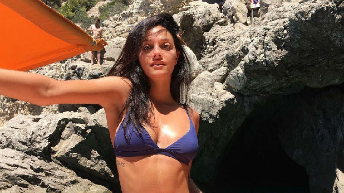 365dc3fa1458 Caras | Oriana Sabatini súper hot en las playas del Caribe
