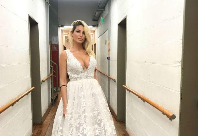 Vicky Xipolitakis, internada de urgencia