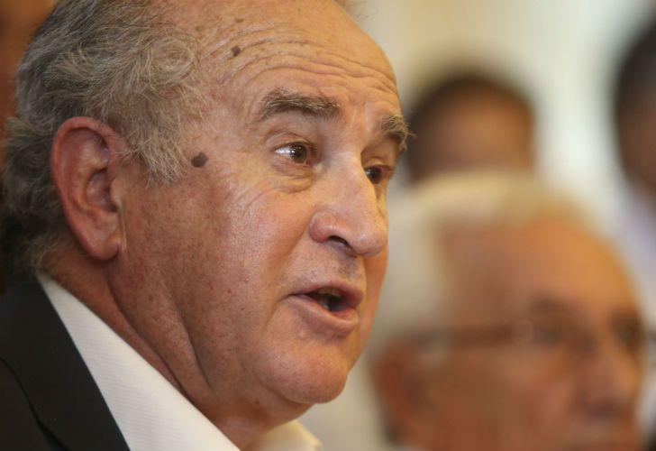 El exsecretario General de la Presidencia y presidente del Instituto Patria, Oscar Parrilli.