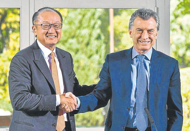 Inversion. Jim Yong Kim (BM) se reunió con Mauricio Macri. El Gobierno sigue el Doing Business.
