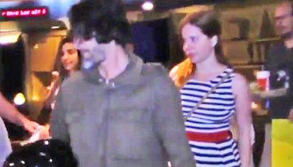 Infraganti. La periodista dejó unas horitas a su bebé para ir a ver una película con su nuevo novio, Carlos Gianella, a Recoleta.