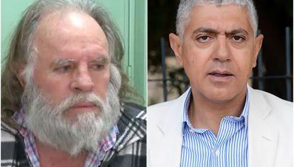 """Omar """"Caballo"""" Suárez y Carlos Broitman abogado del sindicalista"""