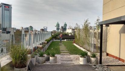 Terrazas verdes en la Ciudad