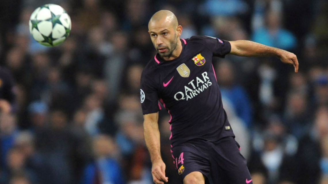 Barcelona defender Javier Mascherano is leaving the club after eight seasons, it was announced today.