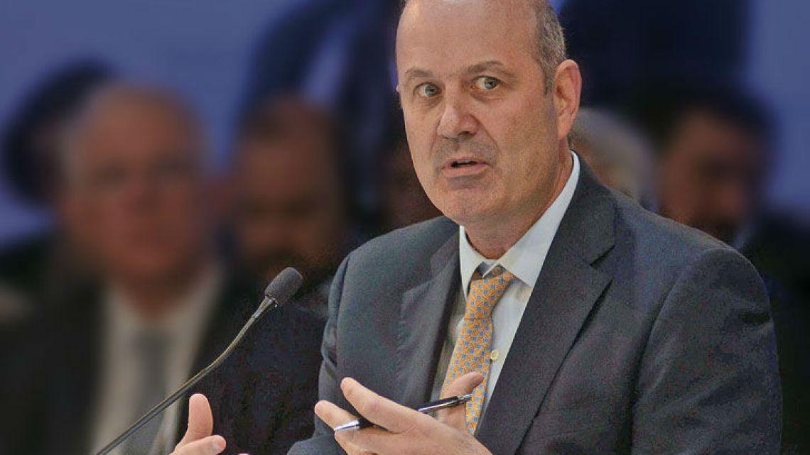 Central Bank chief Federico Sturzenegger.