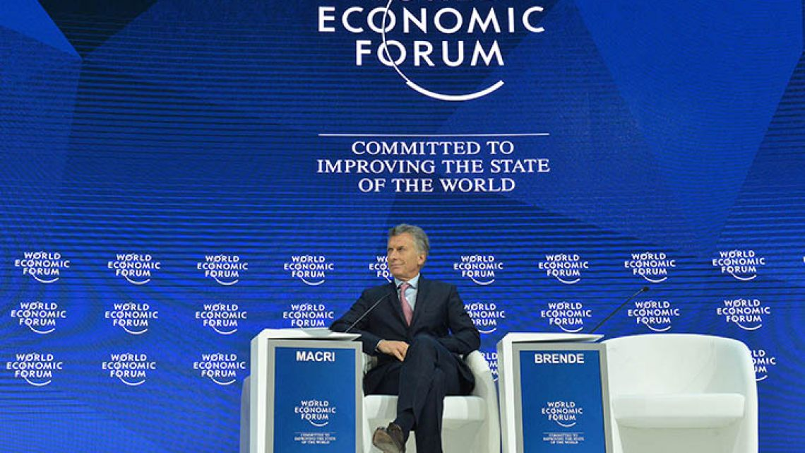 President Mauricio Macri is the first South American leader to preside the G20.