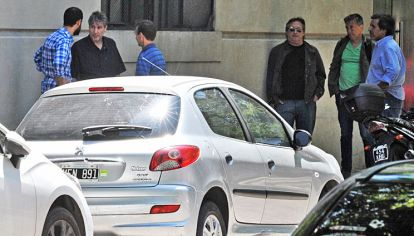 Barracas. El jueves, el vicepresidente recibió en su departamento a su amigo y socio, Núñez Carmona, en su nueva casa.