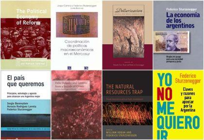 Los ocho libros de Sturzenegger